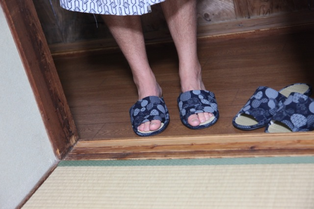 Walking Kumano Kodo footwear shoes