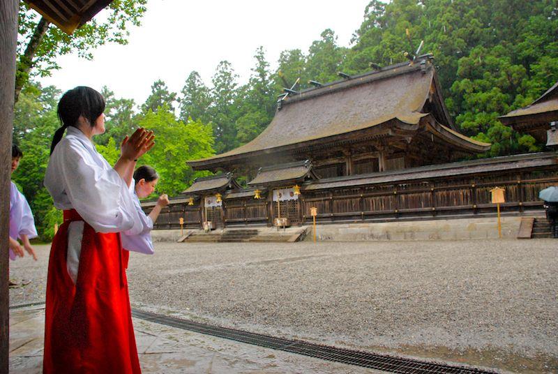 Kumano Hongu Taisha maiden copy
