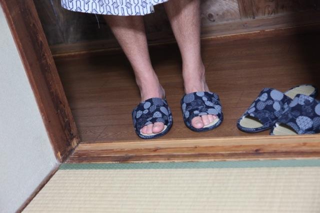 Walking Kumano Kodo footwear shoes